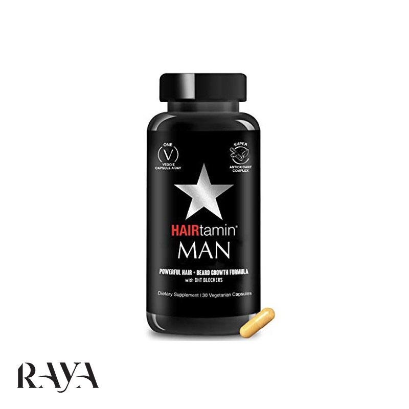 قرص تقویت مو هیرتامین مردانه