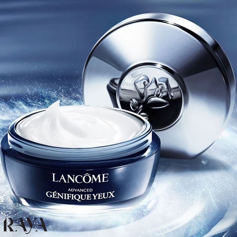 کرم دور چشم جوانساز جینیفیک لانکومحجم 6 و 15 میل Lancome Advanced Genifique Yeux Youth Activating Eye Cream