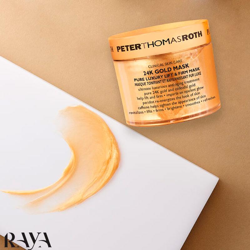ماسک طلا 24 عیار پیتر توماس حجم 14، 50 و 150 میل Peter Thomas Roth24K Gold Mask Pure Luxury Lift & Firm